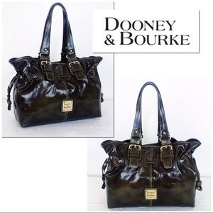 Dooney & Bourke Chiara Patent Leather Leather Bag